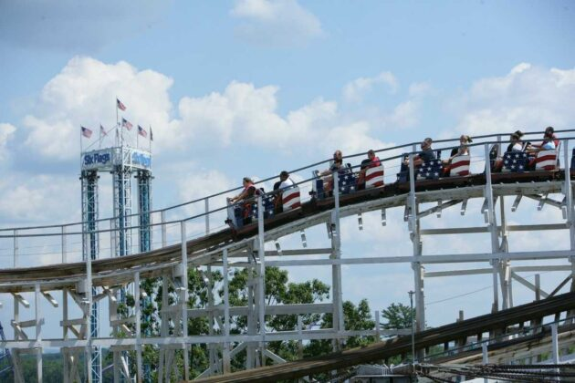 Amusement parks reopen, road races resume on Monday; stadiums increase capacity