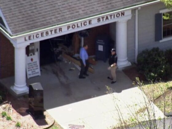Authorities ID man shot, killed by officers after ramming Leicester police station