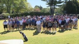 Boston sports legends among hundreds who hit links for AJ Quetta golf fundraiser