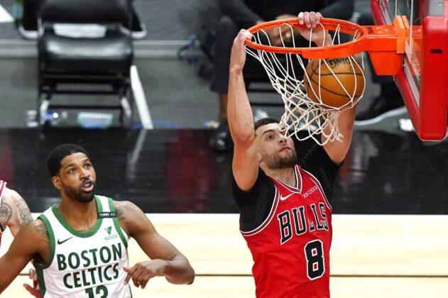 Celtics fall to Bulls, eyeing NBA play-in tournament