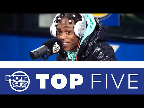 Drewski's Top 5 Freestyles From The New Generation! | Top Five