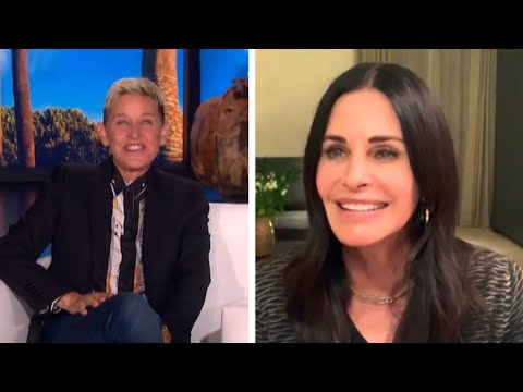 Ellen DeGeneres Reveals Why She's Living at Courteney Cox's House