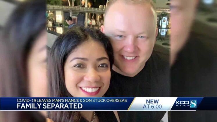 Family separated: Iowa man's fiancee and newborn son he's never held stuck in Philippines