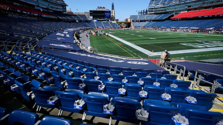 Gillette Stadium to have 100% capacity starting Memorial Day