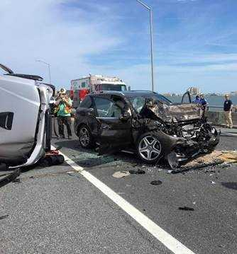 Good Samaritan jumps into Maryland bay to rescue infant ejected during Ocean City crash