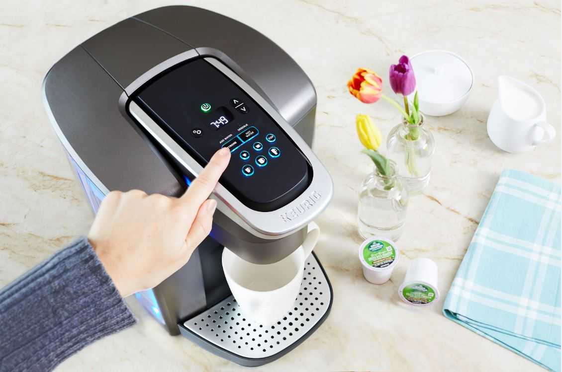cleaning a keurig tips