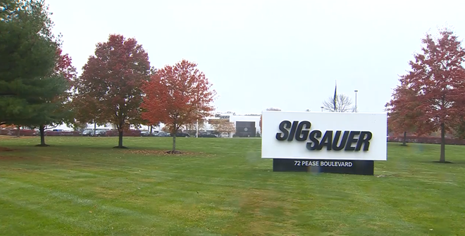 Misfire by Sig Sauer gun injures special forces soldier in Canada