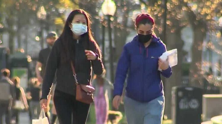 Masks no longer required in Massachusetts when outside if social distancing possible