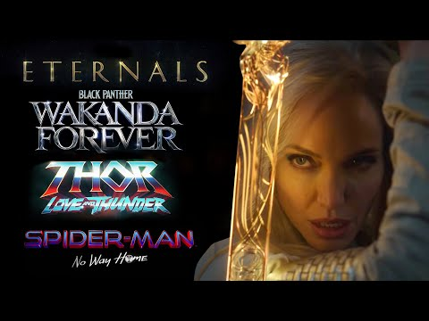 MCU Phase 4 Teaser Trailer (Eternals, Black Panther Wakanda Forever, Thor Love And Thunder)