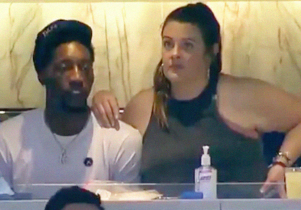 NBA Star Bam Adebayo Goes Viral; On 'Date' With 3 'LARGE' White Women!!
