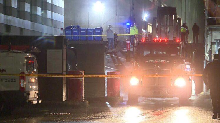 Person injured in loading dock incident outside Boston Children's Hospital