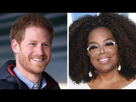 Prince Harry and Oprah Are Working Together on a Docuseries!