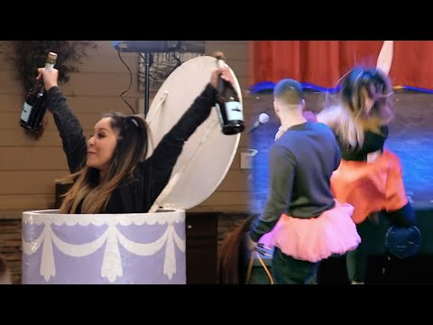 Snooki FALLS OFF STAGE After Making SURPRISE Return to Jersey Shore Family Reunion