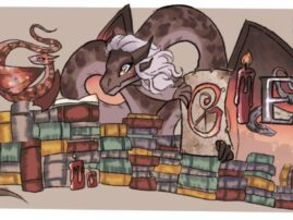 This Harvard 7th grader's 'Google Doodle' could be featured on the Google homepage