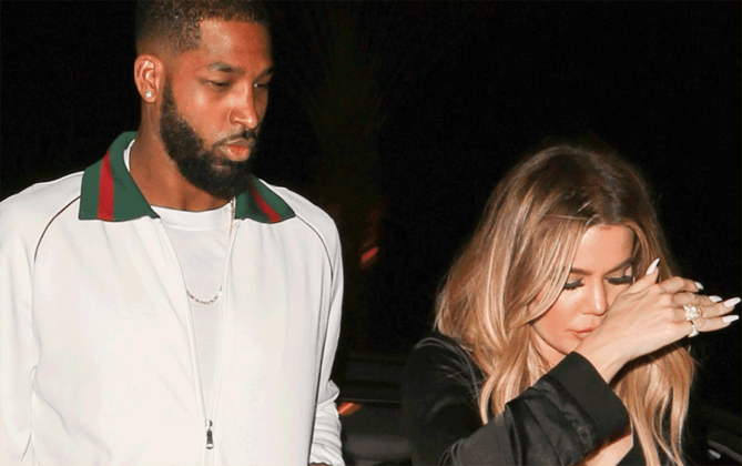 Twitter Roasts Khloe Kardashian For Sticking w/ Tristan Thompson!!