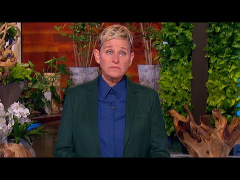 Watch Ellen DeGeneres BREAK THE NEWS She's Ending Her Long-Running Talk Show to Her Audience