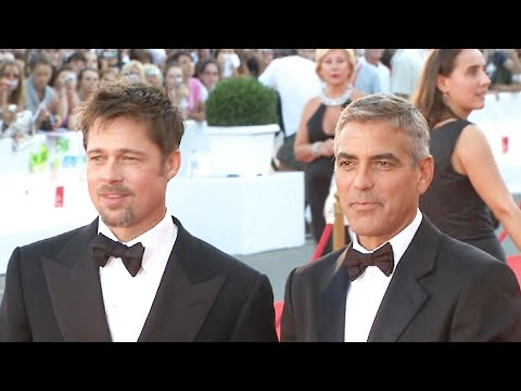 Watch George Clooney Become Brad Pitt's BIGGEST Fan in Hilarious New Fundraiser Video
