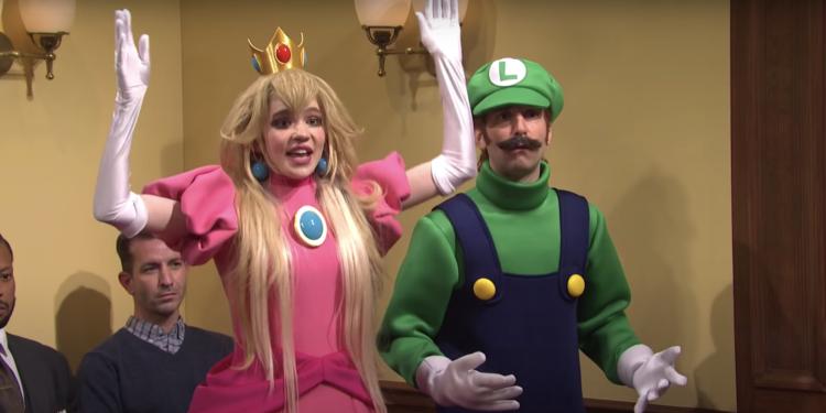 Watch Grimes Appear as Princess Peach on Elon Musk-Hosted SNL