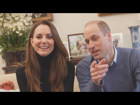Watch Prince William and Kate Middleton's CUTE CHEMISTRY in Exciting New Project