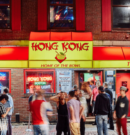 HongKong Boston