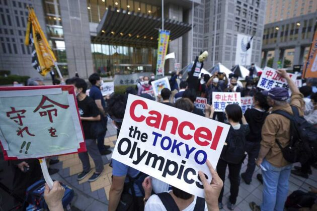 As Tokyo Games come to an end, Japan still to face protesters and surging COVID-19 cases