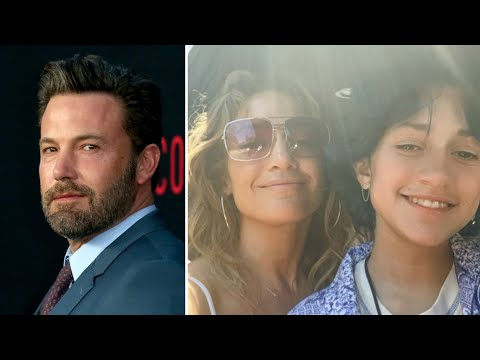 Ben Affleck and Jennifer Lopez's Family Dinner With Her Daughter Emme (Source)