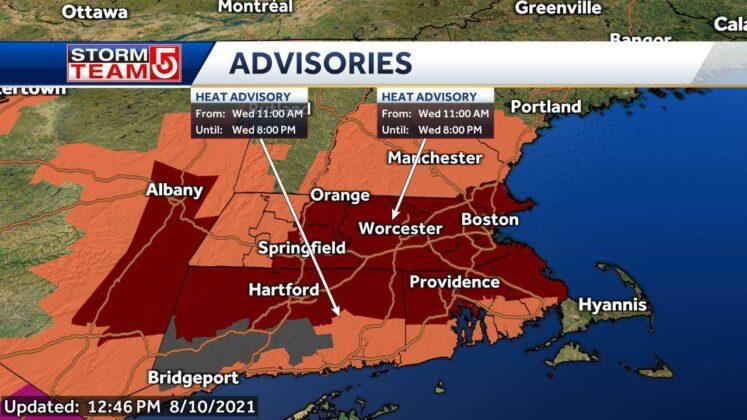 Boston declares heat emergency ahead of expected heatwave