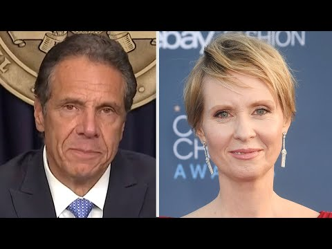Cynthia Nixon REACTS to Andrew Cuomo Resigning as New York's Governor