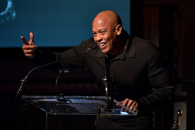 Dr. Dre Hands Out a Random 'L' for First Tweet in About Two Years