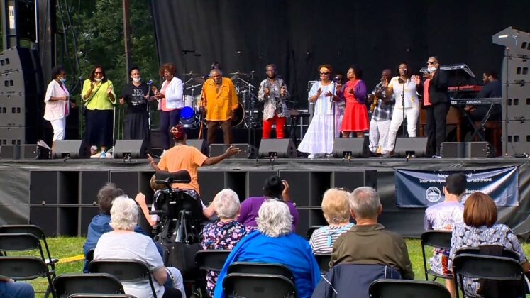 GospelFest held in Franklin Park after last year's cancellation