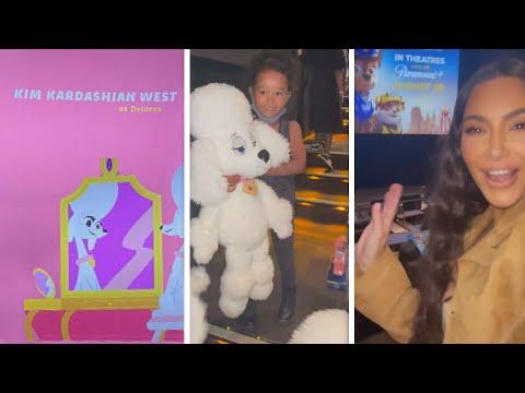 Inside Kim Kardashian's Paw Patrol Screening For Her Kids!