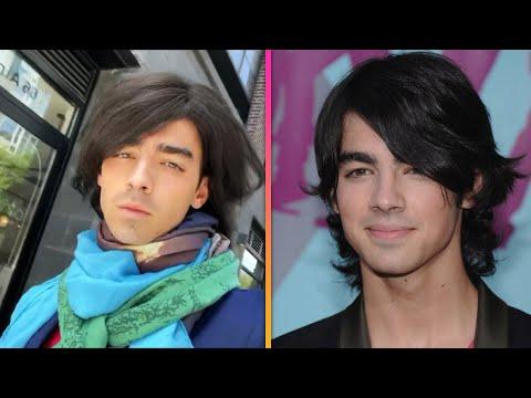 Joe Jonas Brings Back His EPIC Camp Rock Flat-Ironed Hair