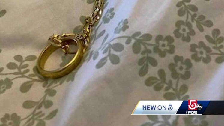 Know the owner? Teen finds ring in water at Mass. beach
