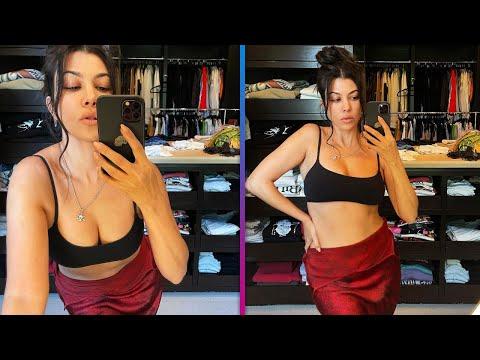 Kourtney Kardashian CLAPS BACK at Pregnancy Speculation Comments