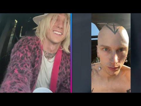 Machine Gun Reveals BOLD Head Tattoo After Shaving His Hair Off