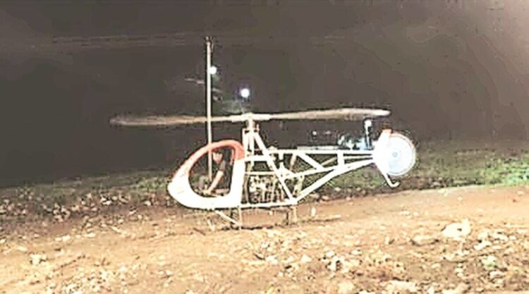 Man Builds A Homemade Helicopter On Youtube . . . And The Machine Kills Him LIVE! (Video)