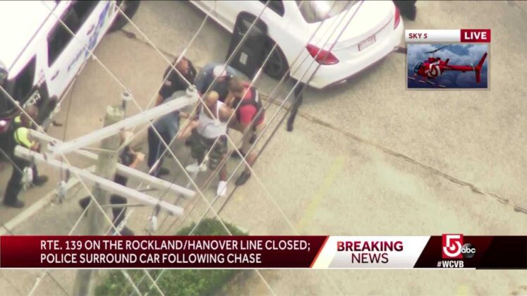 Man in custody after standoff with police in Rockland