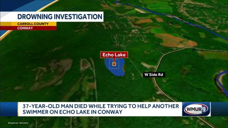 New Hampshire man dies while trying to help another swimmer