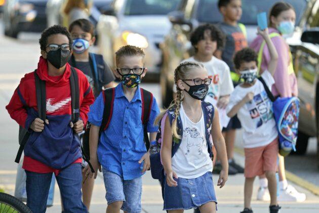 President Biden calls, praises school leaders for implementing mask mandates