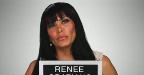 Renee Graziano Posts Pic On IG . . . Of Her Partying w/ White Powder!!