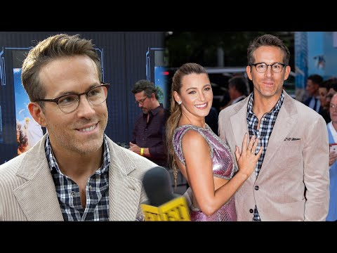 Ryan Reynolds Talks 10 Year Anniversary With Blake Lively (Exclusive)