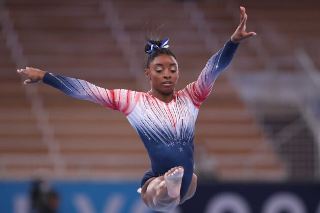 Simone Biles returned for the balance beam final at the Olympics. Here's the latest on the competition