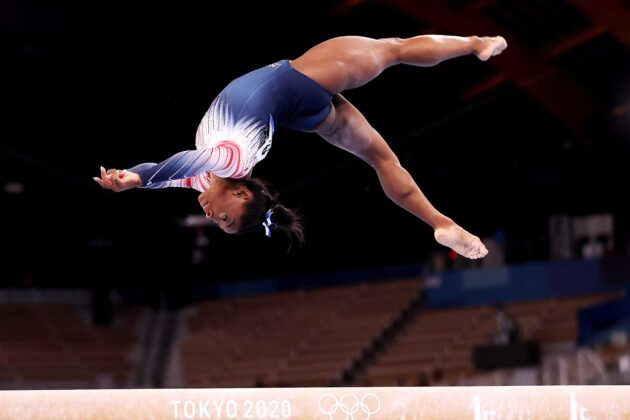 Simone Biles thanks Japanese gym where she trained to regain Olympic form