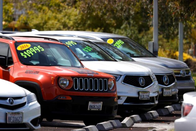 Sky-high used car prices may soon start to fall