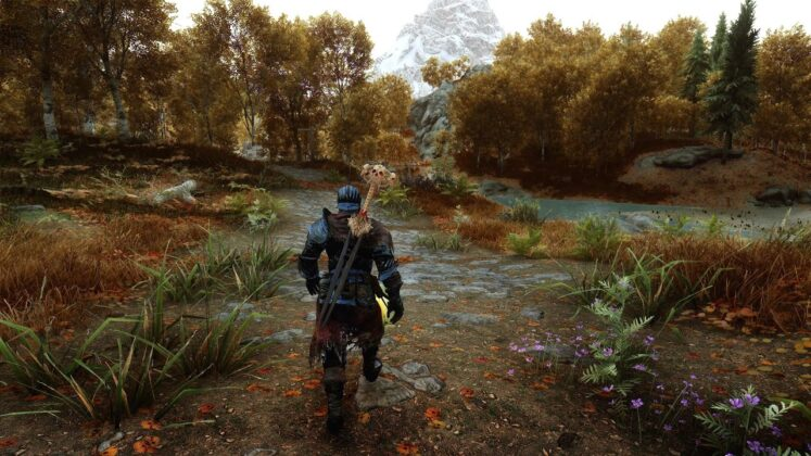 'Skyrim' player shows off stunning gameplay with 500 mods enabled
