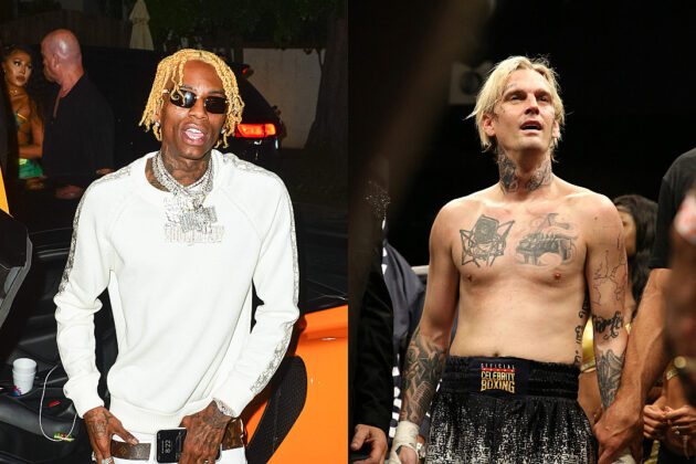 Soulja Boy Responds to Being Called Out to Fight by Aaron Carter
