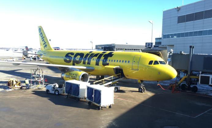 Spirit Airlines cancels hundreds of flights, including several for Boston