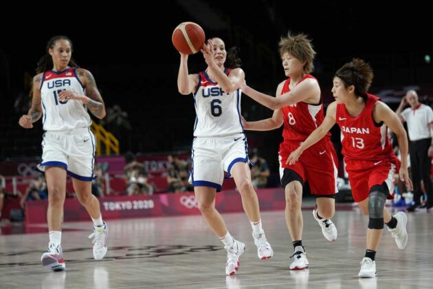 US women play for seventh straight gold in basketball