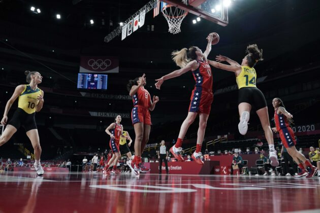 USA women's basketball makes it clear they aren't ready to go home in match against Australia