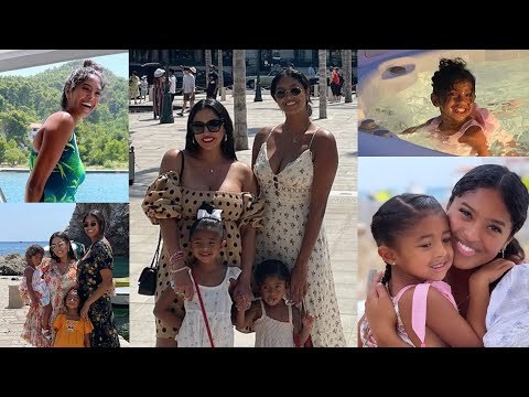 Vanessa Bryant Takes Daughters on STUNNING European Vacation